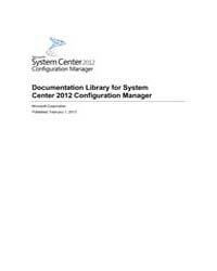 Documentation Library for System Centre ... by Microsoft Corporation